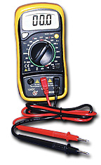 Multimeter, Digital Multimeter, Ohm Meter, Resistance, Amps, Meter