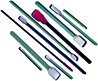 Swabs, Foam, Polyester, Variety